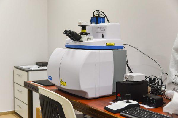 LA.TE. ANDES - Sistema de espectrometría Raman Horiba Xplora Plus