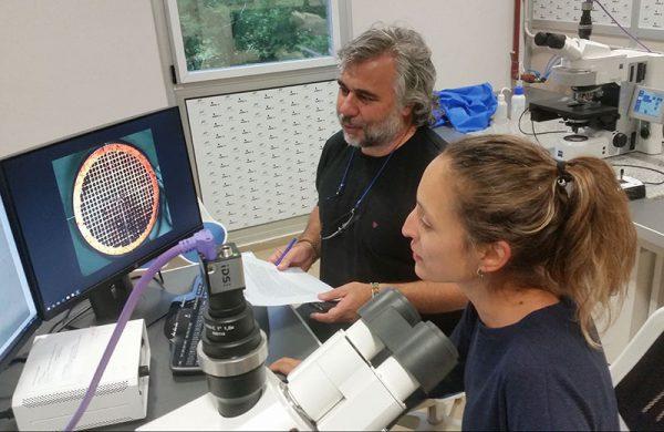 El Dr. Raúl Becchio junto a la Dra. Natalia Sánchez