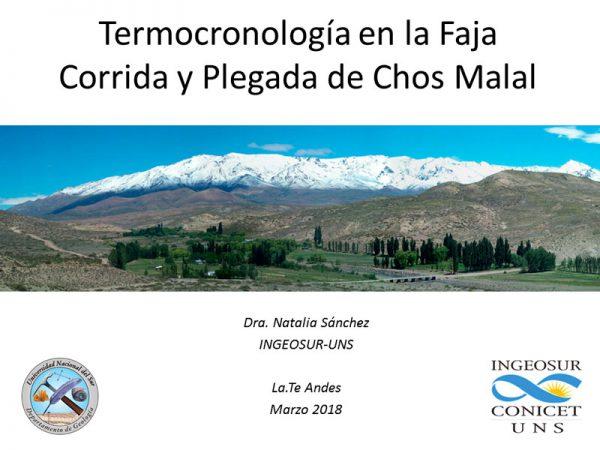 Charla Dra. Natalia Sanchez en La. Te. Andes