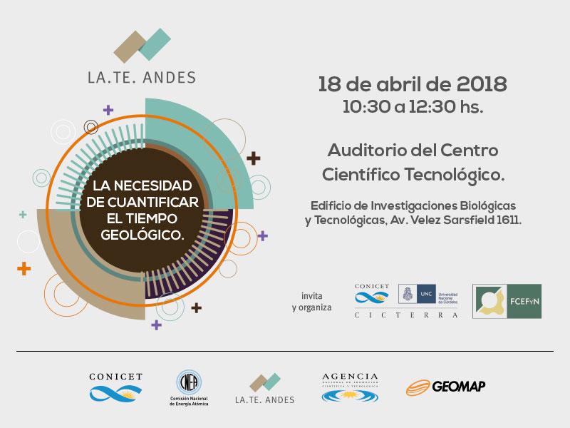 Presentación de LA. TE. ANDES en la Universidad de Córdoba