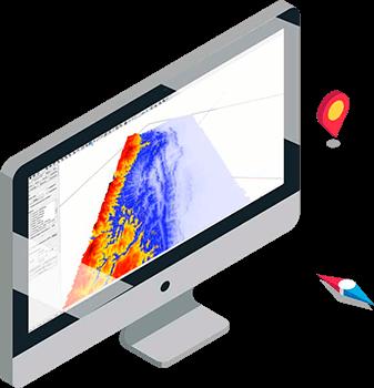 Andino3d - ilustración monitor