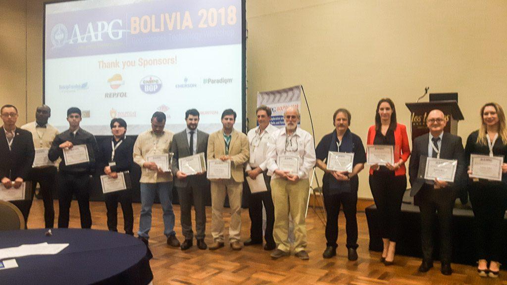 LA.TE. ANDES S.A. - Geosciences Technology Workshop (GTW) de Santa Cruz de la Sierra, Bolivia