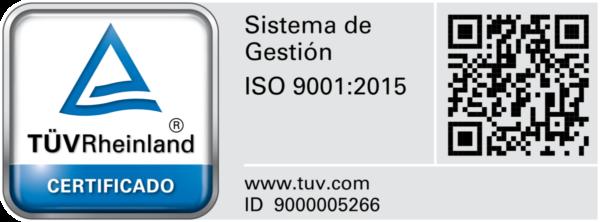 Certificación Sistema de Gestión ISO 9001:2015