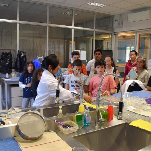 La Granjuela de Vaqueros school visits LA.TE. ANDES S.A.