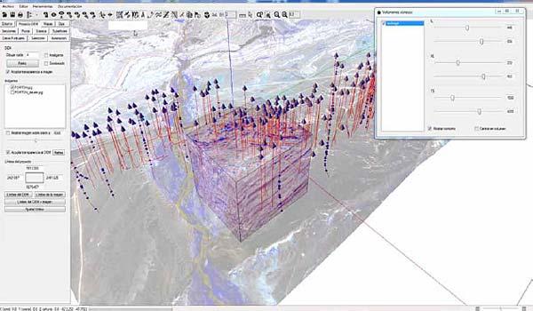 LaTeAndes - Andino3d - Interpretación y modelado