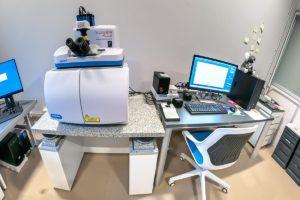 Sistema Horiba Xplora Plus para espectrometría Raman.