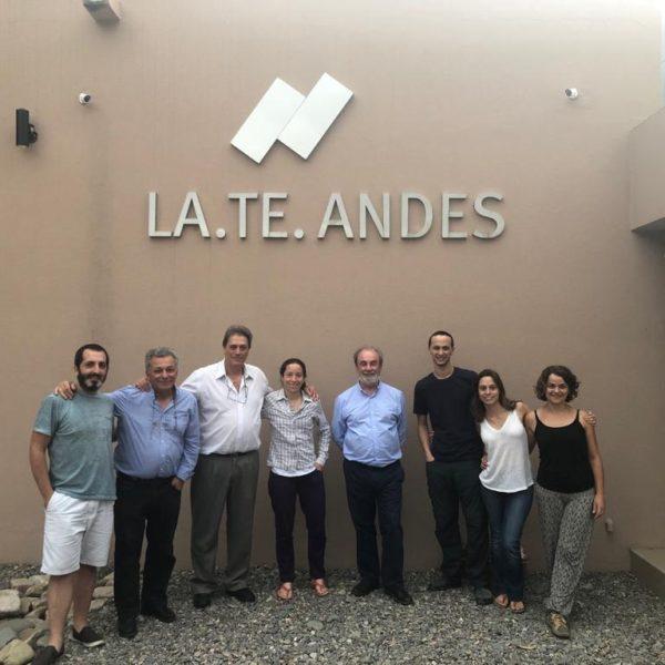 Visita de autoridades de la Universidad de La Plata (UNLP)