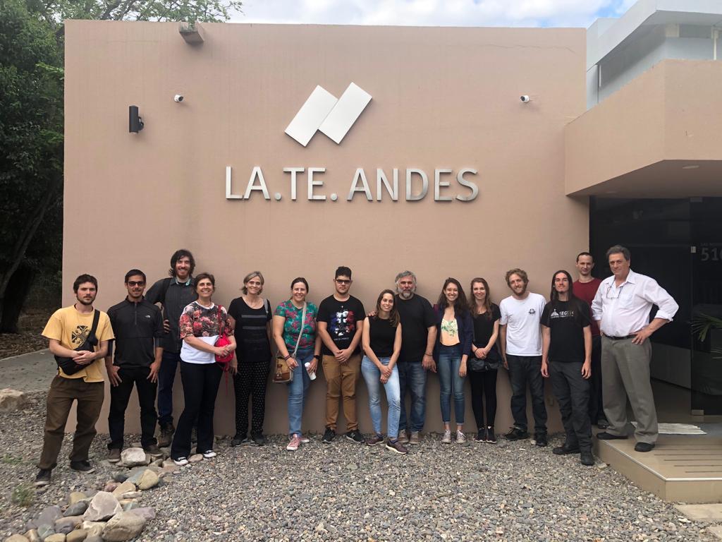 Visita de la Universidad Federal de Río Grande del Sur, Brasil
